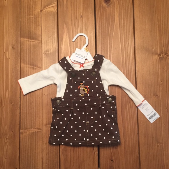 43626599b9c4 Carter's Dresses | Newborn Thanksgiving Outfit By Carters | Poshmark